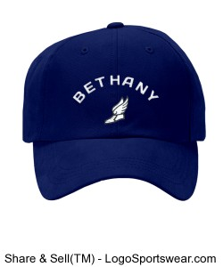 Kids Bethany Low Profile Youth Twill Flexfit Cap Design Zoom