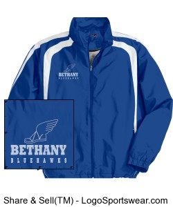 Kid's Bethany Track Jacket Design Zoom