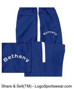 Bethany Youth Sable Pants with Embroidory Design Zoom
