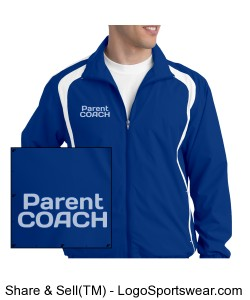 Parent Coach Bethany Track Jacket Design Zoom
